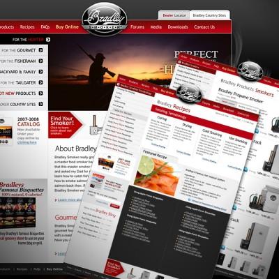 Bradley Smoker Website