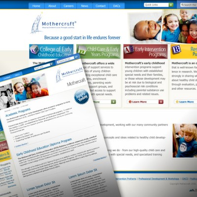 Mothercraft Website