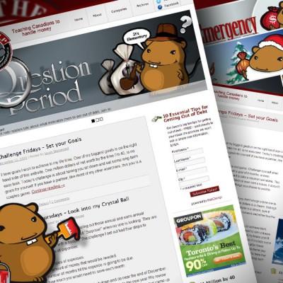 Out of Debt Help Website