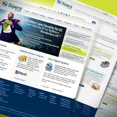 Sipera Systems Website