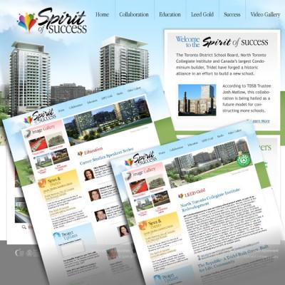 Spirit of Success Website