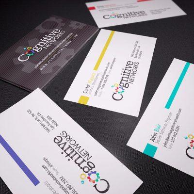 Cognitive Media Networks Business Cards