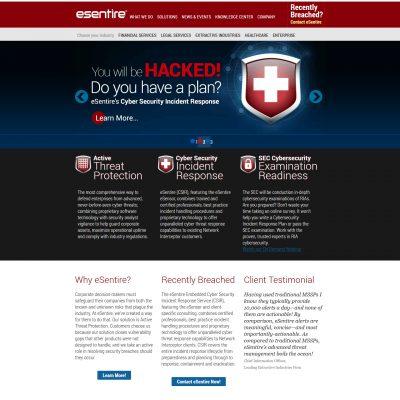 eSentire Website