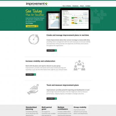 Improvement+ Website