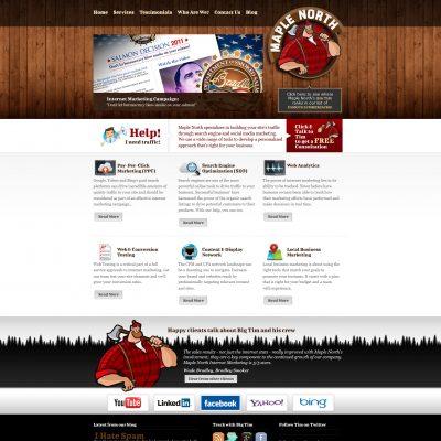 Maple North Website