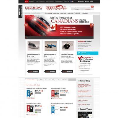 Steeda.ca Website